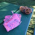 Lost baseball gloves -pink (14381581270).jpg