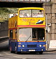 Lothian Buses open top tour bus Leyland Olympian Alexander RH Majestic Tour livery June 2010.jpg