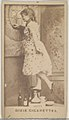 Lotta, from the Actors and Actresses series (N45, Type 7) for Dixie Cigarettes MET DP831255.jpg