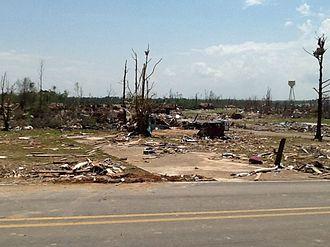 Tornado outbreak of April 27–30, 2014 - EF4 damage in Louisville