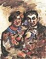 Lovis Corinth Porträtstudie von Erich Goeritz und seiner Frau 1922.jpg