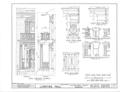 Lowther Hall, Clinton, Jones County, GA HABS GA,85-CLIN,1- (sheet 5 of 7).png
