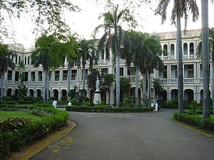 Loyola College, Chennai - Main building