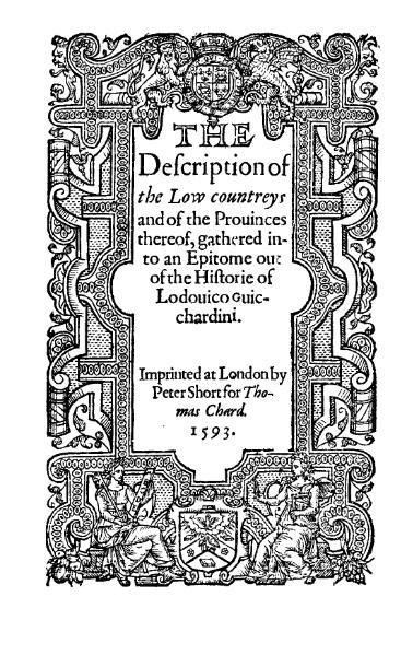 File:Ludovico Guicciardini - Description of the Low Countries.djvu