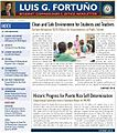 Luis Fortuño congressional newsletter.JPG
