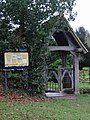 Lych Gate, Betteshanger Church. - geograph.org.uk - 303687.jpg