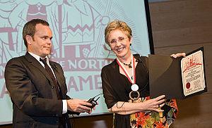 Lynn Johnston - Image: Lynn Johnston at the The Doug Wright Awards 2008