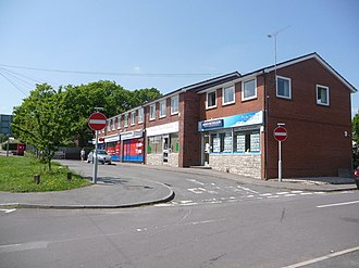 Lytchett Matravers - Image: Lytchett Matravers, shops on High Street geograph.org.uk 1318927