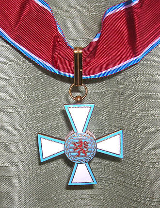 Order of Merit of the Grand Duchy of Luxembourg - Image: Méritecommandeur