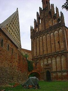 Marienstern Abbey monastery in Brandenburg