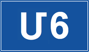 S7 highway (Georgia) - Image: M6 Road signs of Armenia