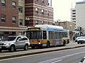 MBTA route 11 bus on Washington Street, March 2015.JPG