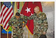 MG Raymond Odierno and BG Albert Bryant Jr at 4th Infantry Division Ceremony