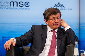 Ahmet Davutoğlu - Davutoğlu at the 50th Munich Security Conference in 2014
