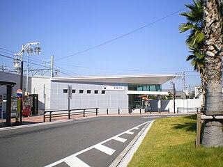 Shin Maiko Station Railway station in Chita, Aichi Prefecture, Japan