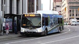 Route 47 (MTA Maryland) - Image: MTA Maryland 6006 47