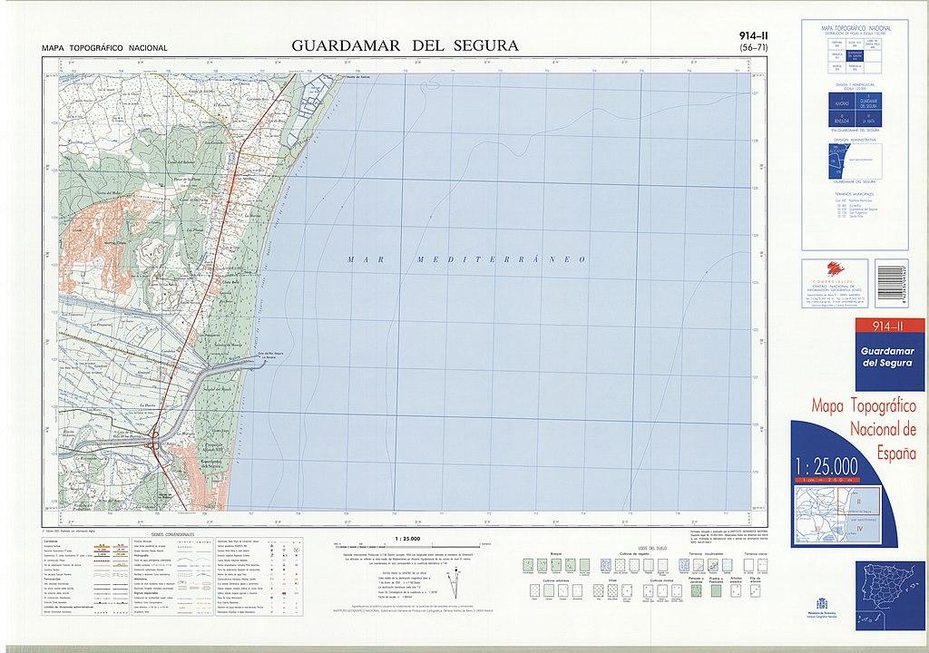 Mapa Guardamar Del Segura.File Mtn25 0914c2 2001 Guardamar De Segura Jpg Wikimedia