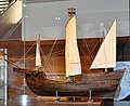 MUHBA Barcelona Model of Barceloneta I medieval ship.jpg