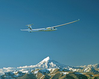 Stemme S10 - MWP-Research Airplane Stemme S10 VT across the volcano Lanin
