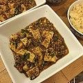 Ma po tofu with Szechwan peppercorns with brown rice 花椒たっぷり麻婆豆腐と玄米.jpg