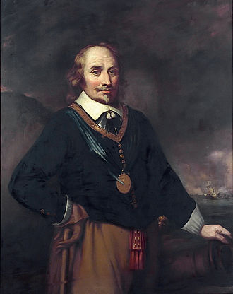 Battle of Portland - Lieutenant-Admiral Maarten Tromp.