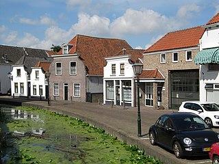 Maasland Town in Netherlands