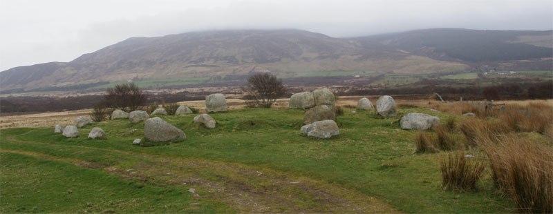 Machrie Moor Stone Circles - Circle 5