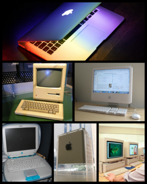 81e8409af7a Clockwise from top: MacBook Air (2015), iMac G5 20