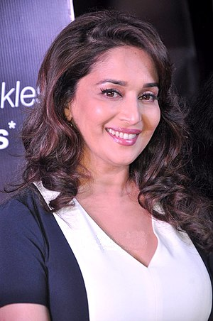 Madhuri Dixit - Dixit at an event for Olay in 2013
