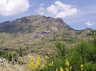 Madonie - Monte S. Salvatore in Madonie Regional Natural Park.