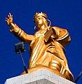Madonna della Lettera (posta su stele votiva ingresso porto di Messina) - (Crop).jpg