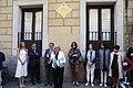 Madrid recuerda al pintor Eduardo Arroyo con una placa en la casa donde nació 06.jpg