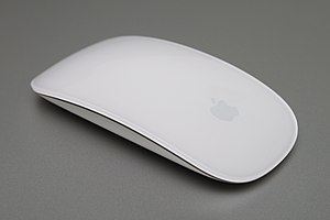 Magic Mouse on MacBook Pro. Canon Rebel T1i wi...