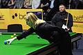 Maike Kesseler and Marcus Campbell at Snooker German Masters (DerHexer) 2013-01-31 01.jpg