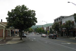 Massachusetts Route 9 - Image: Main Street, Ware MA