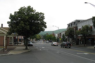 Massachusetts Route 9 - Image: Main Street, Ware MA