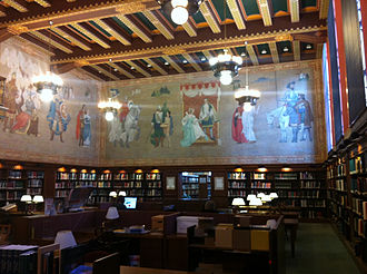Birmingham Public Library - Image: Main research room Linn Henley Research Library