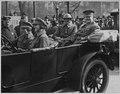 Major Esperanz and Major Spencer of the 369th Infantry at the parade. Major David Esperanz (with he . . . - NARA - 533540.tif