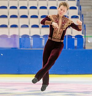 Alexander Majorov - Majorov at the 2013–14 Swedish Championships.