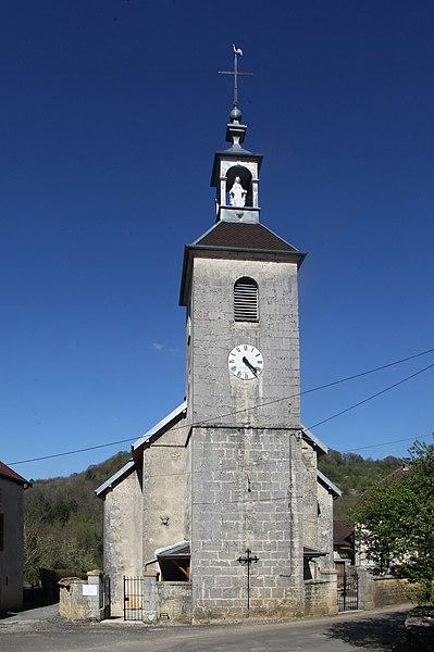 Église de Malans (Doubs).