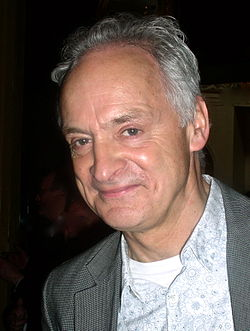 Malcolm Sinclair at the STR Theatre Book Prize ceremony on 18 May 2011 at the Drury Lane Theatre, London.jpg