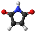 Maleimide molecule ball.png