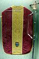 Manifattura fiorentina, pianeta in damasco e lampasso, 1500-50 ca, da ss. ippolito e biagio.JPG
