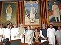Manmohan Singh, the Chairperson, National Advisory Council, Smt. Sonia Gandhi, the Leader of Opposition in Lok Sabha, Smt. Sushma Swaraj, the Chairman, BJP Parliamentary Party Shri L.K. Advani.jpg
