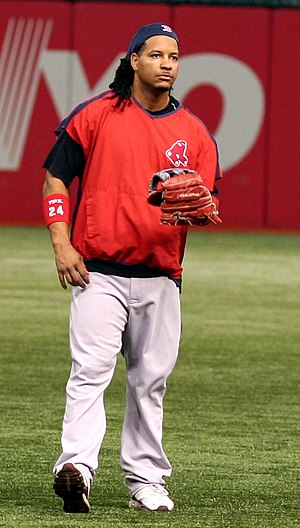 Manny Ramirez - Ramirez with the Red Sox in August 2007