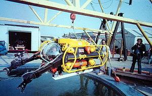 Graham Hawkes - Image: Mantis at the OSEL Testing tank Gt Yarmouth, UK