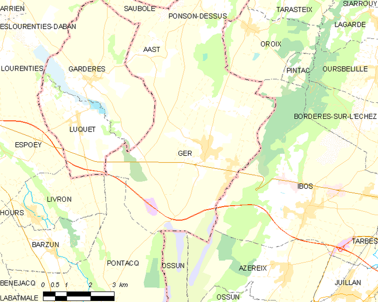 tóng-àn:Map commune FR insee code 64238.png