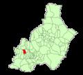 Map of Beires (Almería).png