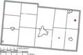 Map of Champaign County Ohio Highlighting Woodstock Village.png