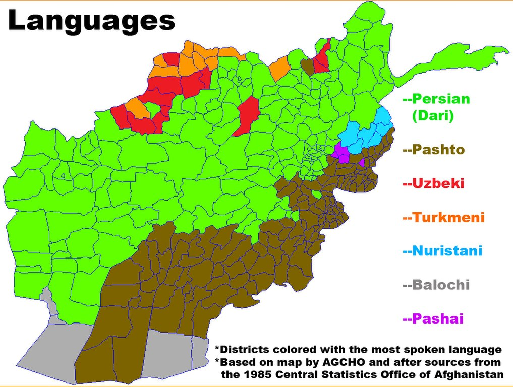 File:Map of Languages (in Districts) in Afghanistan.jpg - Wikimedia ...
